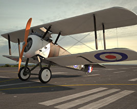3D model of Sopwith Camel
