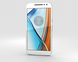 3D model of Motorola Moto G4 White