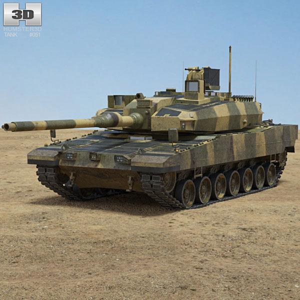 Altay Tank 3D model