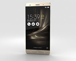 3D model of Asus Zenfone 3 Deluxe Shimmer Gold
