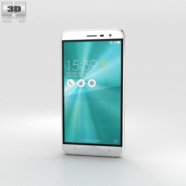 Asus Zenfone 3 Moonlight White 3D model
