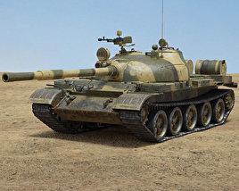 3D model of T-62