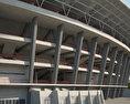 Gelora Bung Karno Stadium 3d model