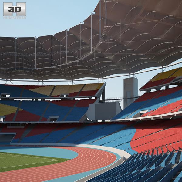 Bukit Jalil National Stadium 3D model