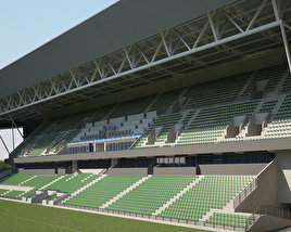 3D model of Stade Geoffroy-Guichard