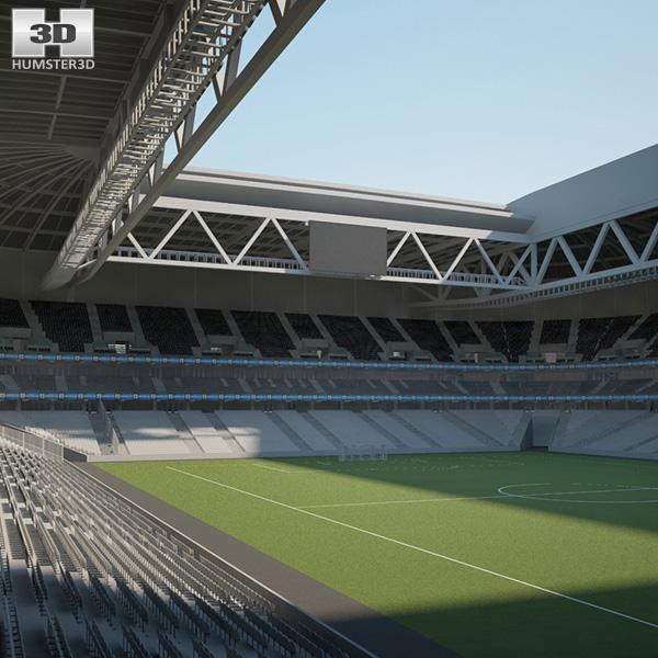 Stade Pierre-Mauroy 3D model