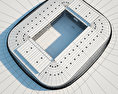 Stade Pierre-Mauroy 3d model
