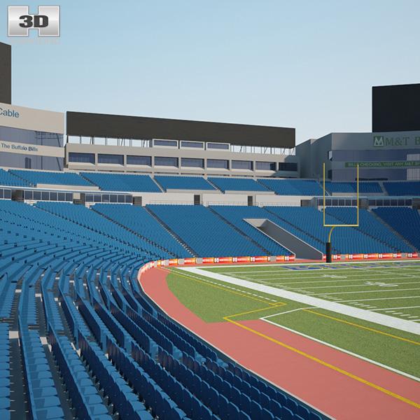 Ralph Wilson Stadium 3D model