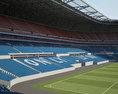 Parc Olympique Lyonnais (Stade des Lumiеres) 3d model