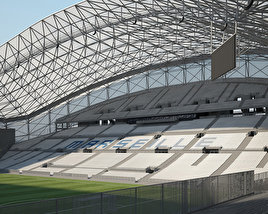 3D model of Stade Velodrome