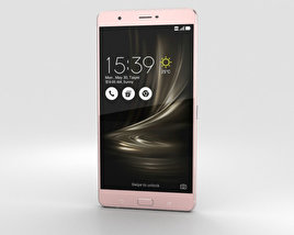 3D model of Asus Zenfone 3 Ultra Metallic Pink