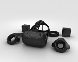 3D model of HTC Vive