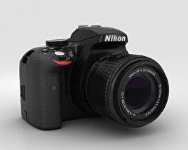 3D model of Nikon D3300