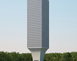 3D model of Rainier Tower