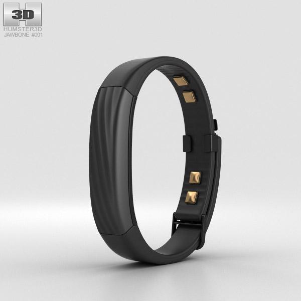 Jawbone UP3 Black Twist 3D model