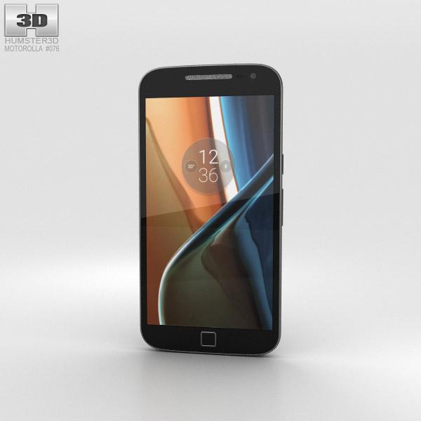 Motorola Moto G4 Plus Black 3D model