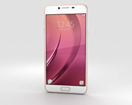 Samsung Galaxy C5 Rose Gold 3D model