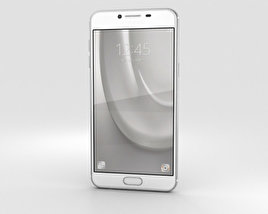 3D model of Samsung Galaxy C5 Silver