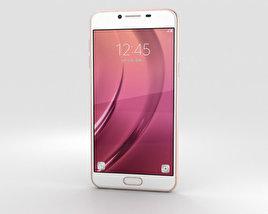 Samsung Galaxy C7 Rose Gold 3D-Modell