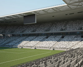 3D model of Nouveau Stade de Bordeaux