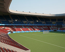 3D model of Parc des Princes