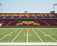 TCF Bank Stadium 3d model