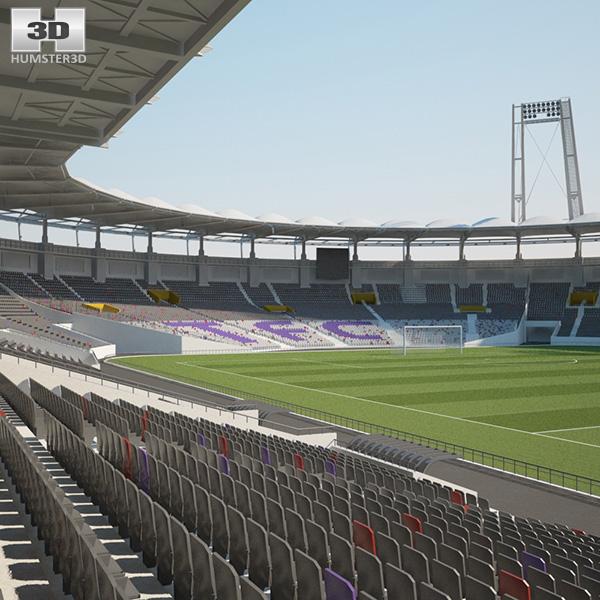 Stadium Municipal de Toulouse 3D model
