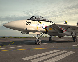 3D model of Grumman F-14 Tomcat