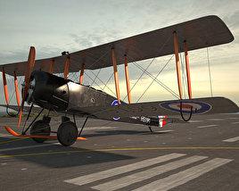 3D model of Avro 504