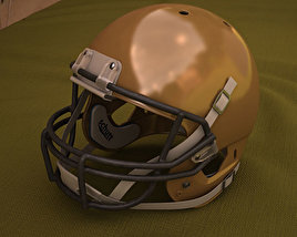3D model of Football Helmet