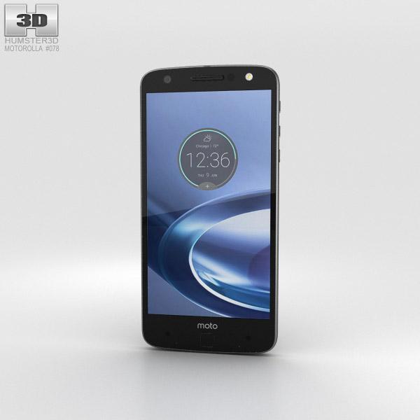 Motorola Moto Z Force Black Lunar Gray 3D model