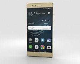 3D model of Huawei P9 Plus Haze Gold