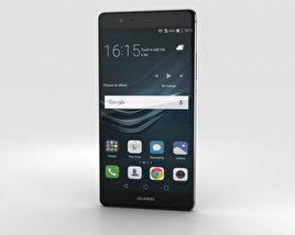 Huawei P9 Plus Quartz Grey 3D model