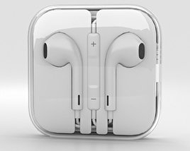 3D model of Apple EarPods