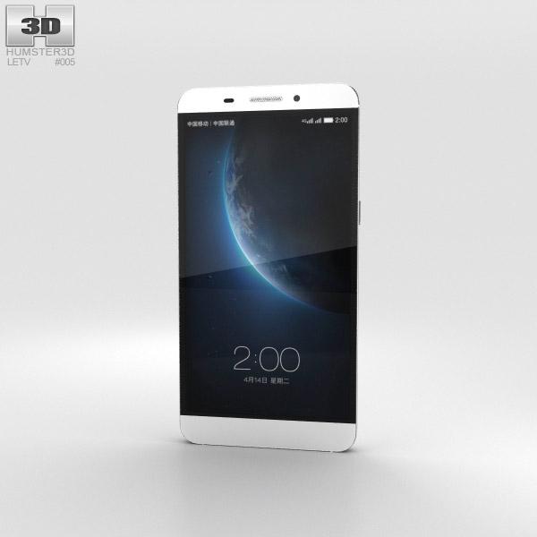 3D model of LeTV One White