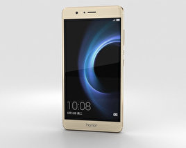 3D model of Huawei Honor V8 Gold