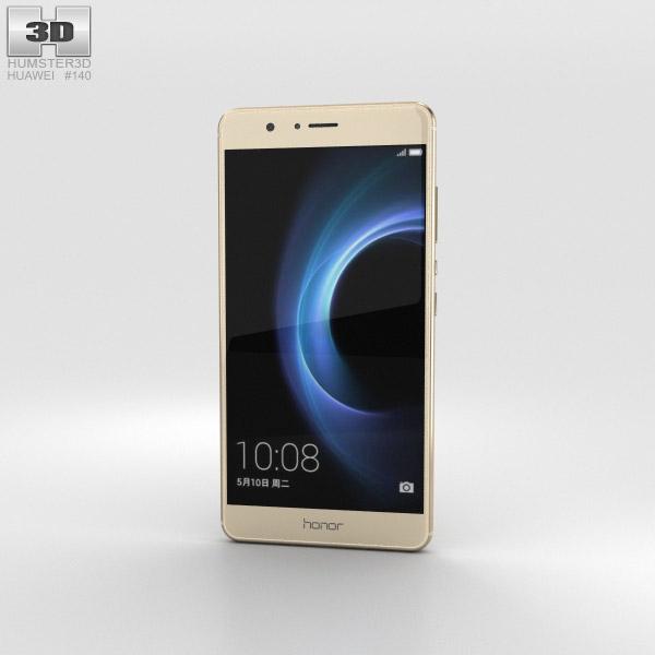 Huawei Honor V8 Gold 3D model