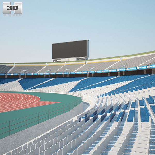 3D model of Azadi Stadium