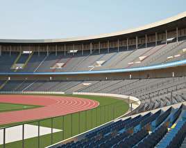 3D model of Stade des Martyrs