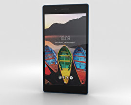 3D model of Lenovo Tab 3 7 Black