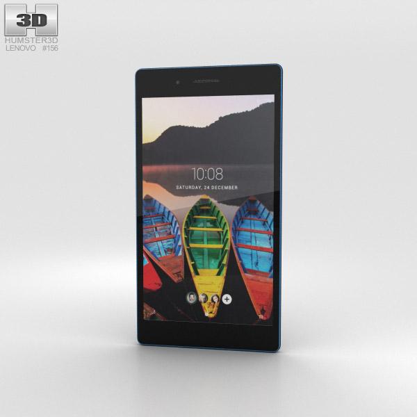 Lenovo Tab 3 7 Black 3D model