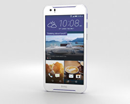 3D model of HTC Desire 830 White/Blue