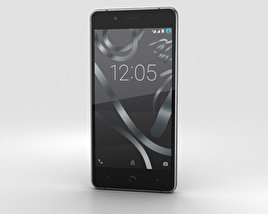 3D model of BQ Aquaris X5 Plus Gray