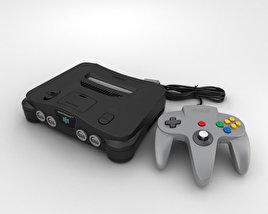 3D model of Nintendo 64