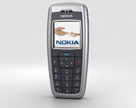 3D model of Nokia 2600 Iron Blue