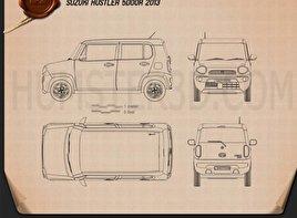 Suzuki Hustler 2013 Blueprint