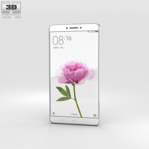 Xiaomi Mi Max Gray 3D model