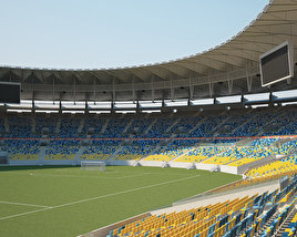 3D model of Maracana Stadium