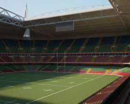 3D model of Millennium Stadium