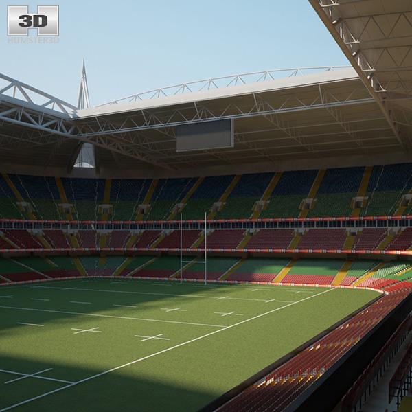 3D model of Millennium Stadium